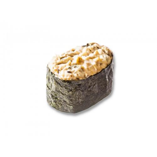 Острые суши мидии